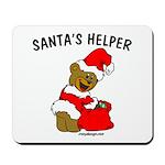 SANTA'S HELPER Mousepad