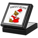 SANTA'S HELPER Keepsake Box