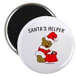 SANTA'S HELPER Magnet