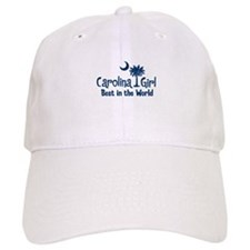 Blue Carolina Girl Best Baseball Cap