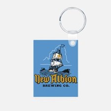 New Albion Brewing Company Keychains