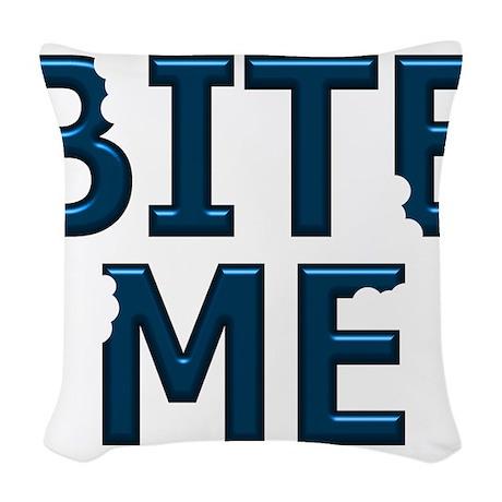 BIRETME2.jpg Woven Throw Pillow