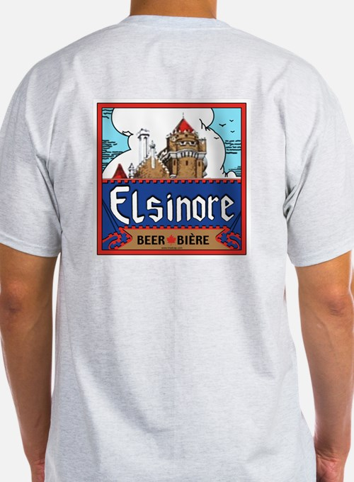 Elsinore Boxing Day Ash Grey T-Shirt