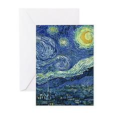 Starry Night by Van Gogh Greeting Card
