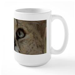 White Footed Serval Mug