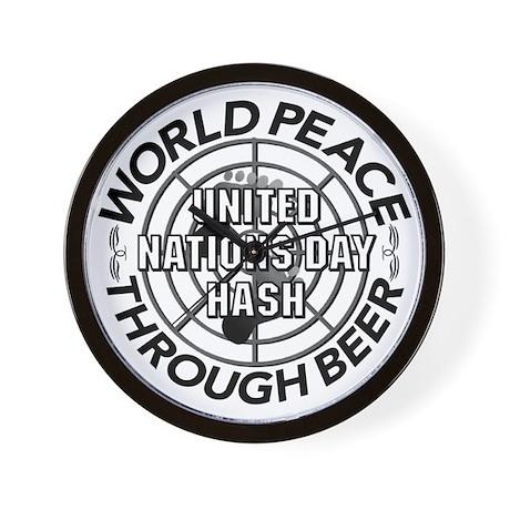 2002 World Peace Through Beer Wall Clock