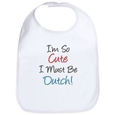 So Cute Dutch Bib