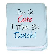 So Cute Dutch baby blanket