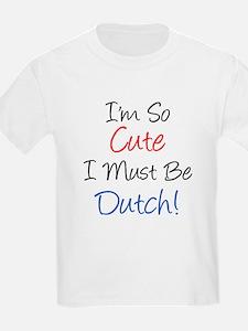 So Cute Dutch T-Shirt