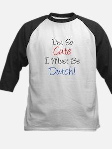 So Cute Dutch Baseball Jersey