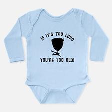 Timpani Vector designs Long Sleeve Infant Bodysuit