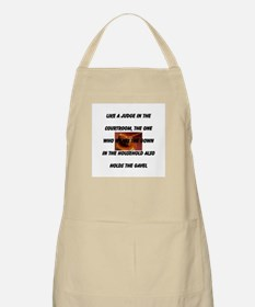 Like A Judge In The Courtroom Apron