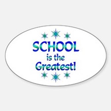 School is the Greatest Decal