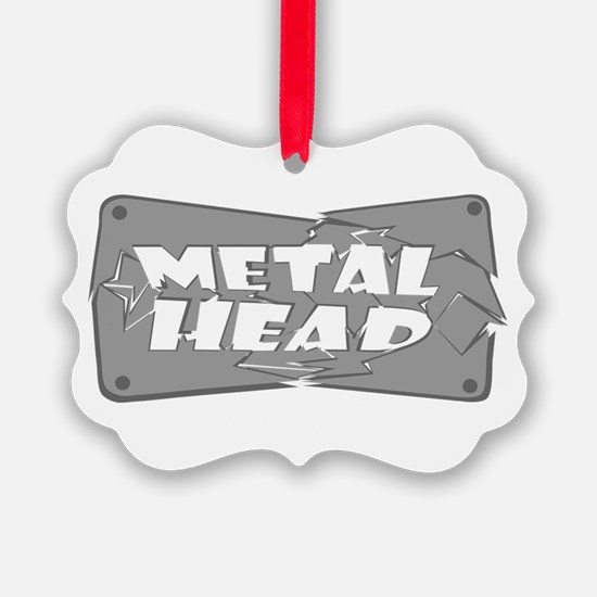 Metal Head Ornament