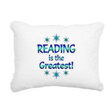 Reading is the Greatest Rectangular Canvas Pillow