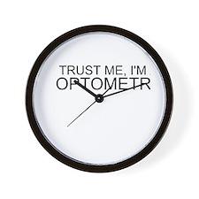 Trust Me, Im An Optometrist Wall Clock