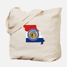 Missouri Flag Tote Bag