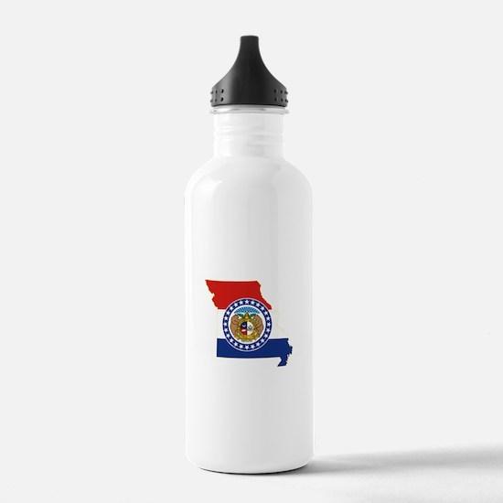 Missouri Flag Water Bottle