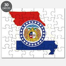 Missouri Flag Puzzle