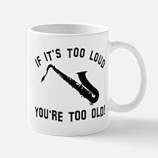 Tenor Saxophonne Vector designs Mug