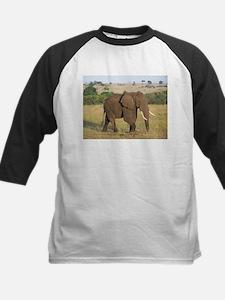 African Elephant Baseball Jersey