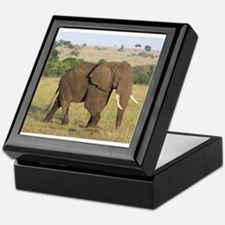 African Elephant Keepsake Box