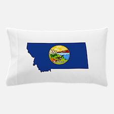 Montana Flag Pillow Case