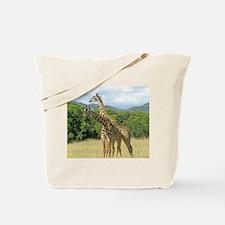 Mara Giraffes Tote Bag