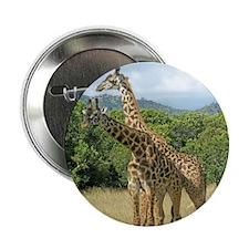 """Mara Giraffes 2.25"""" Button"""
