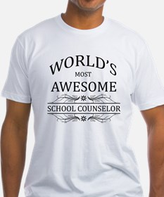 World's Most Awesome School Counselor Shirt