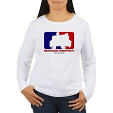 Major League Couch Potato Women's Long Sleeve Tee
