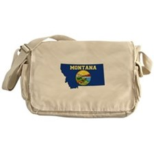 Montana Flag Messenger Bag