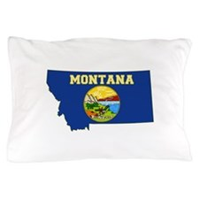 Montana Flag Pillow Case