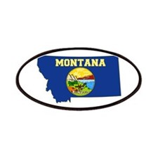 Montana Flag Patches