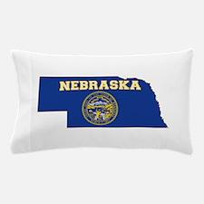 Nebraska Flag Pillow Case