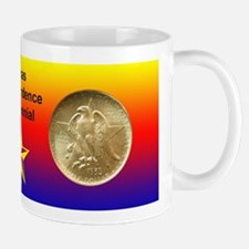 Texas Independence Coin Mug
