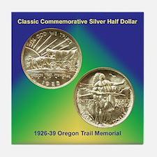 Oregon Trail Coin Tile Coaster