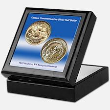 Hudson NY Sesquicentennial Coin Keepsake Box