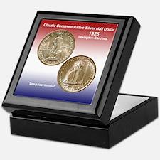 Lexington-Concord Coin Keepsake Box