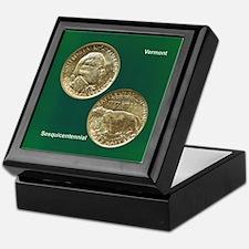 Vermont Sesquicentennial Coin Keepsake Box