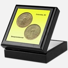Columbia SC Sesquicentennial Coin Keepsake Box