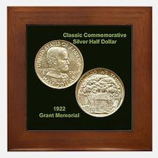 Grant Memorial Coin Framed Tile