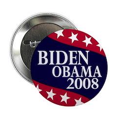 Biden-Obama 2008 Button