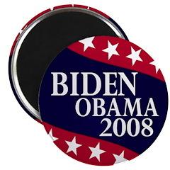 Biden-Obama 2008 Refrigerator Magnet