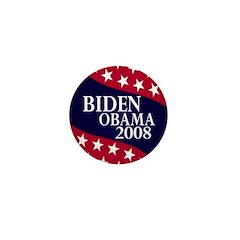 Biden-Obama 2008 Mini Button