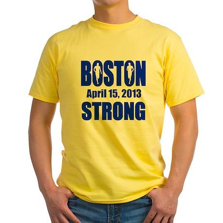 Boston Strong 4 15 B Yellow T-Shirt