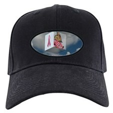 Pink Ribbon Cap (Black)
