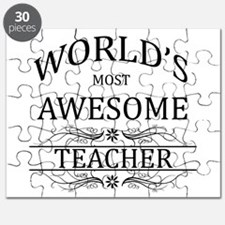 World's Most Awesome Teacher Puzzle