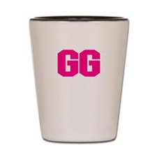 GG - GRANDMA HOT PINK DESIGN Shot Glass