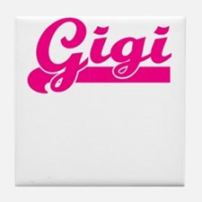 GIG HOT PINK SPORTY Tile Coaster